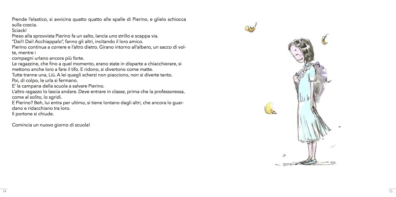 Pierino e il Bruco - pagina interna